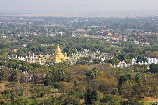Mandalay city scenery