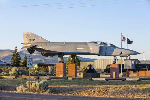 Phantom F4 Fighter at Veterans Memorial in Susanville