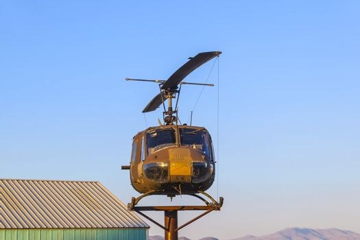 Bell Helicopter at Veterans Memorial