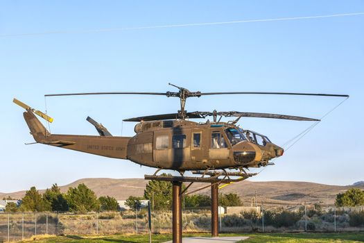 Bell and Cobra Helicopters  at Veterans Memorial