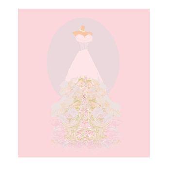 Wedding dress  for Wedding invitations