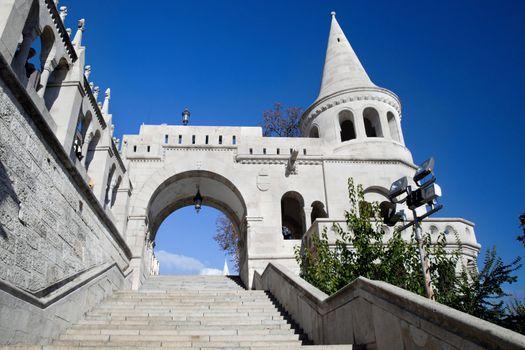 Fisherman's Bastion. Budapest, Hungary