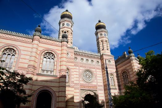 The Great Synagogue. Budapest, Hungary