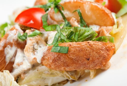 chicken salad Neapolitan