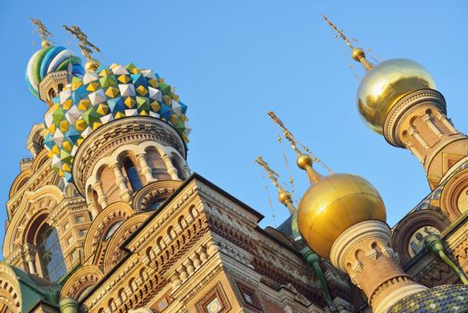 """St. Petersburg, Russia, Orthodox Church """"Spas at blood"""""""