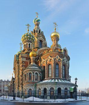 "St. Petersburg, Russia, ""Spas at Blood"""