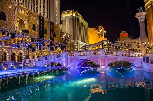 LAS VEGAS - NOVEMBER 08: Venetian Resort Hotel & Casino on November 08, 2012 in Las Vegas. Las Vegas in 2012 is projected to break the all-time visitor volume record of 39-plus million visitors