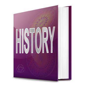 History text book.