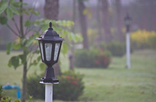 lantern in the resort