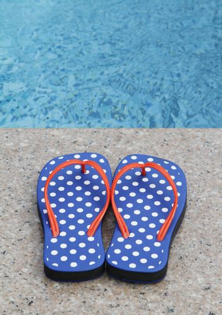 Flip-Flops By The Pool