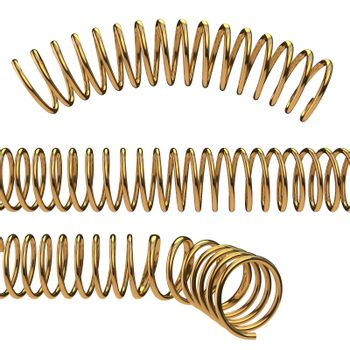 Arc, line and bend of golden helix