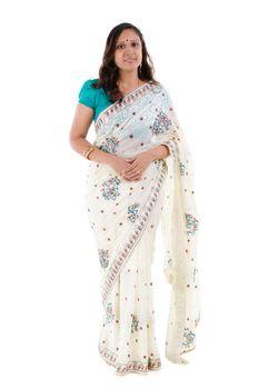 Full body Indian woman
