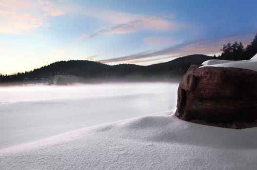 Wintry landscape II