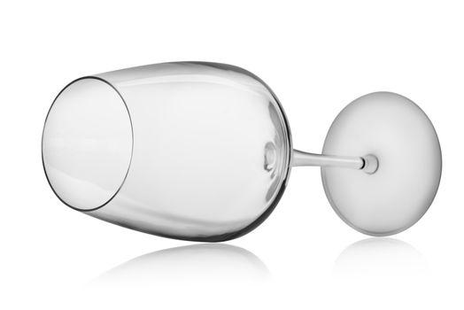 Horizontal wineglass