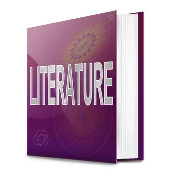 Literature text book.