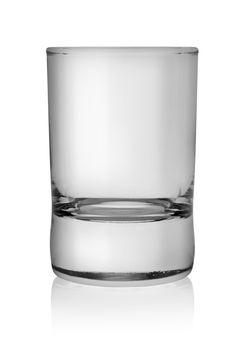 Glass vodka