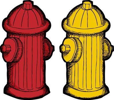 Fire Hydrant Cartoon
