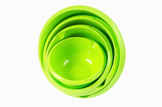 Plastic bowl set