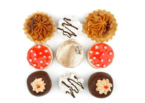 Arrangement of Cakes