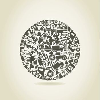 Industry a sphere
