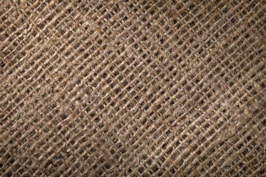 Linen sack background