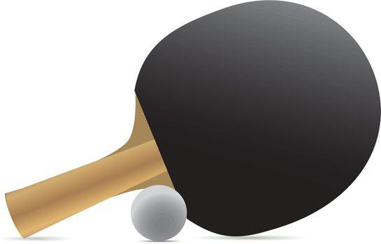 Ping-pong racket