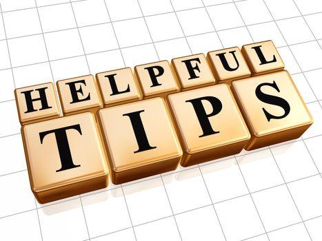 helpful tips in golden cubes