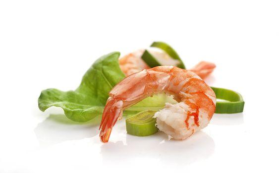 Shrimp's tail
