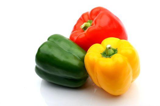 colored paprika