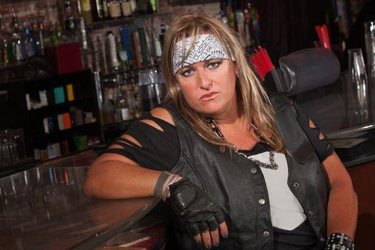 Tough Female Gang Member