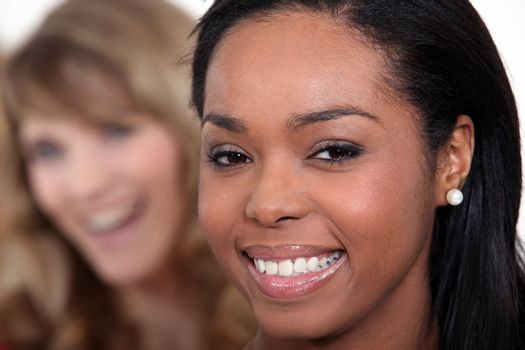 Portrait of black woman