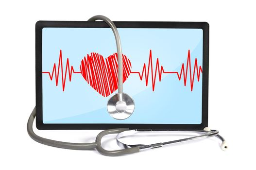 heartbeat on touchpad