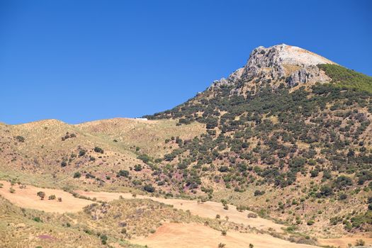 mountain peak in Spain