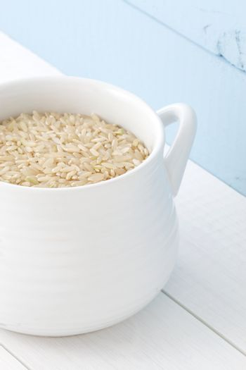 nutritious brown rice