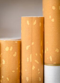 Brown filter cigarettes