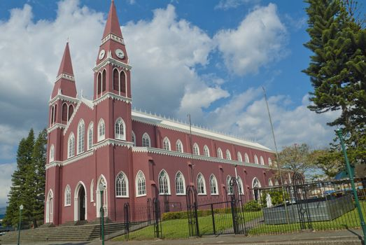 Catholic Church in Grecia Costa Rica