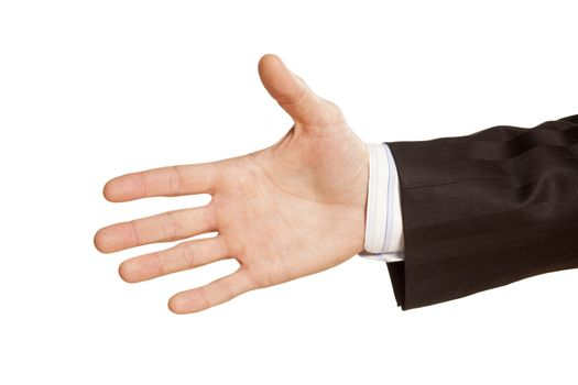 hand for a handshake