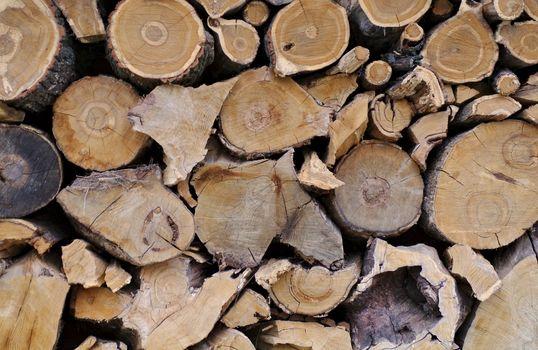 Firewood Logs Background