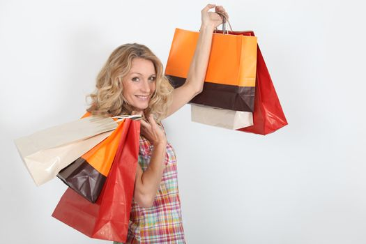 Women satisfied with their purchases