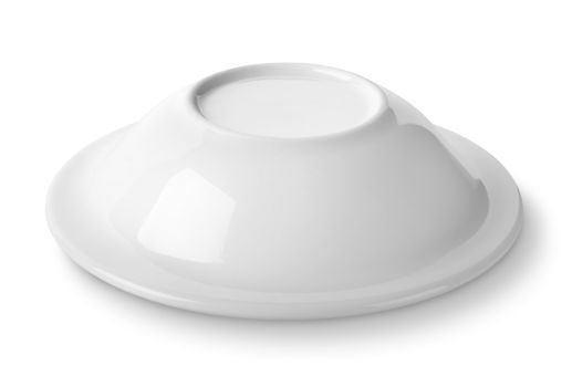 Plate upside down