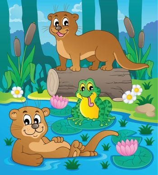 River fauna theme image 3