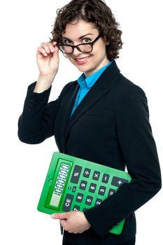 Female entrepreneur looking at you
