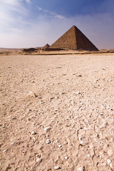 Pyramid in the desert