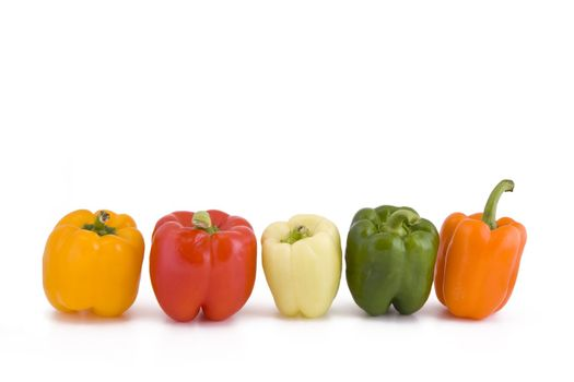 Colors of paprika