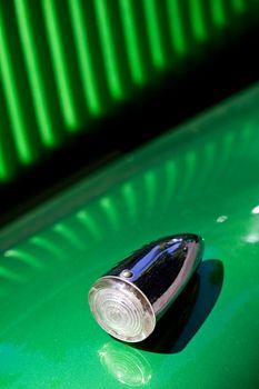 Turn signal of retro car