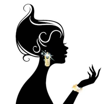 Vector illustration of Vector illustration of Beauty woman