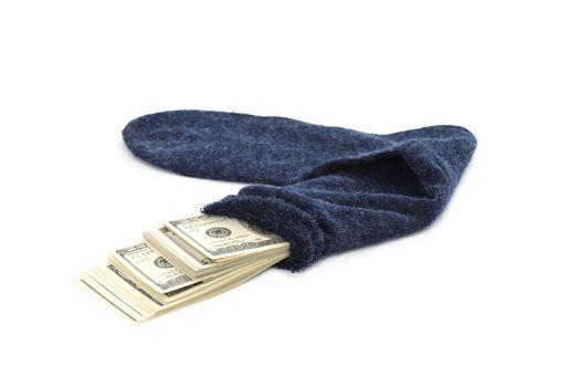 Money in the sock