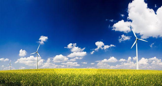 Panorama windmills
