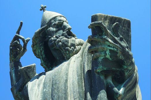 Famous statue in Croatia