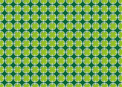 abstract background Cross linked green